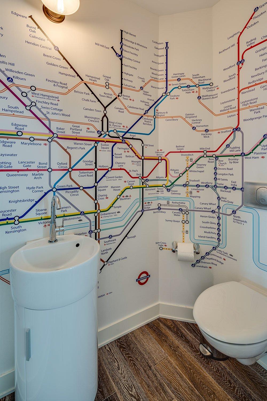 London Underground Custom Power Room