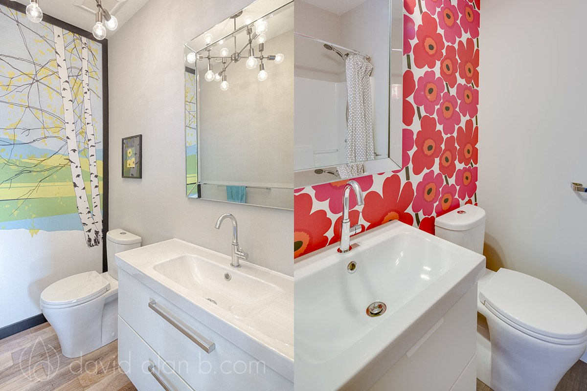 North Vancouver Custom Home Bathrooms
