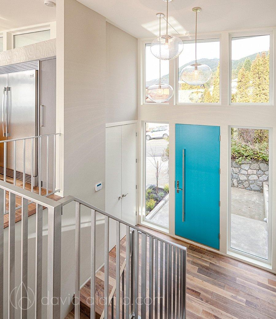 North Vancouver Custom Home Interior Entryway