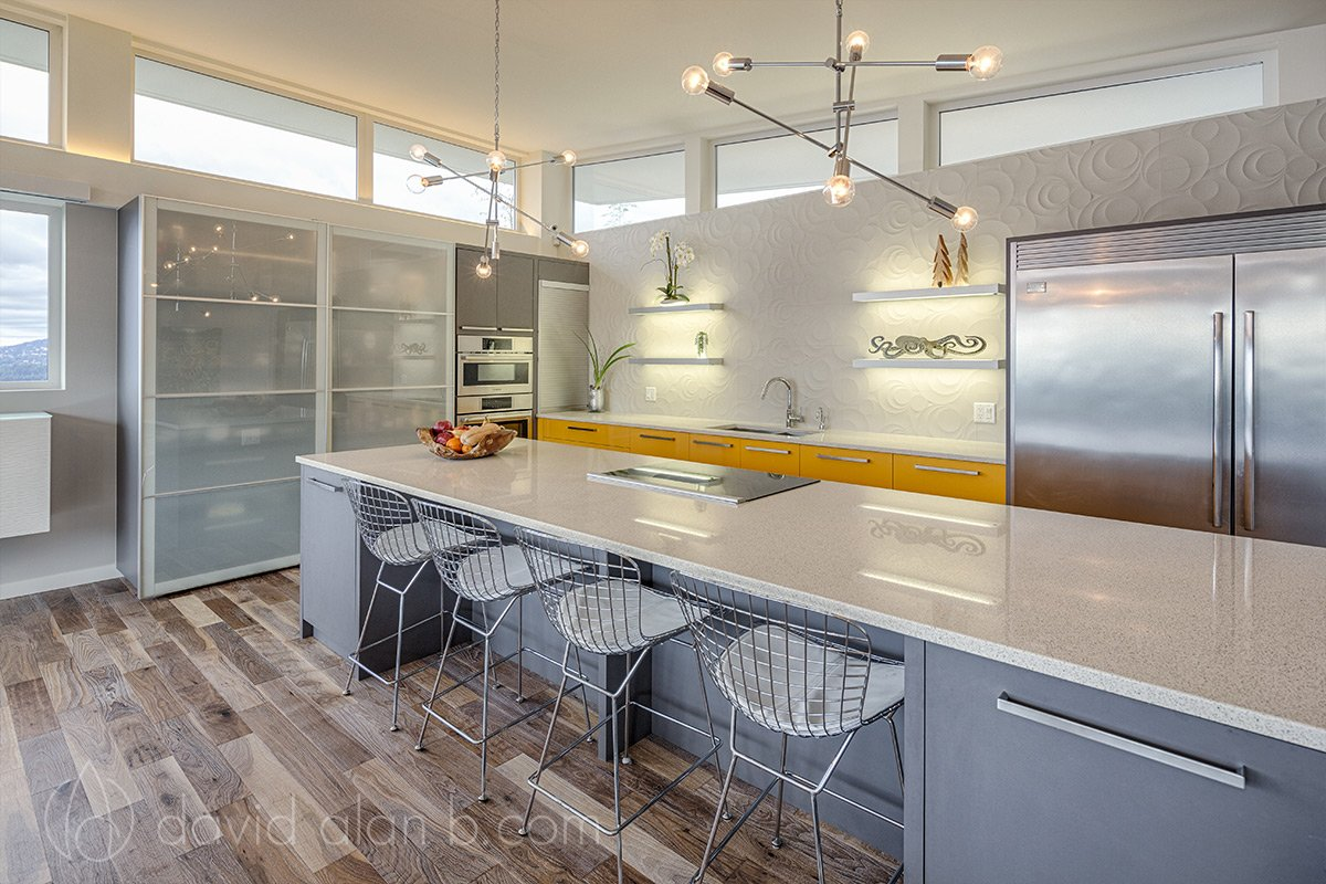 North Vancouver Custom Home Kitchen