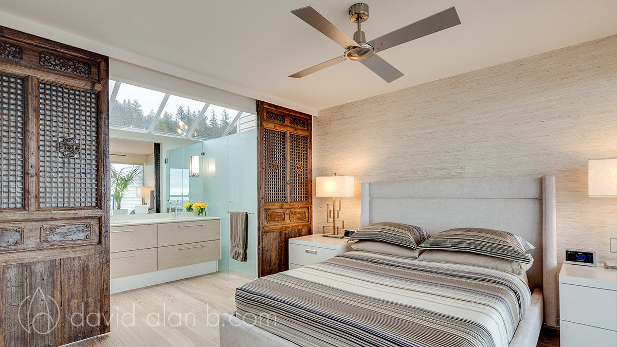 Two-Storey West Vancouver Renovation - Master Bedroom