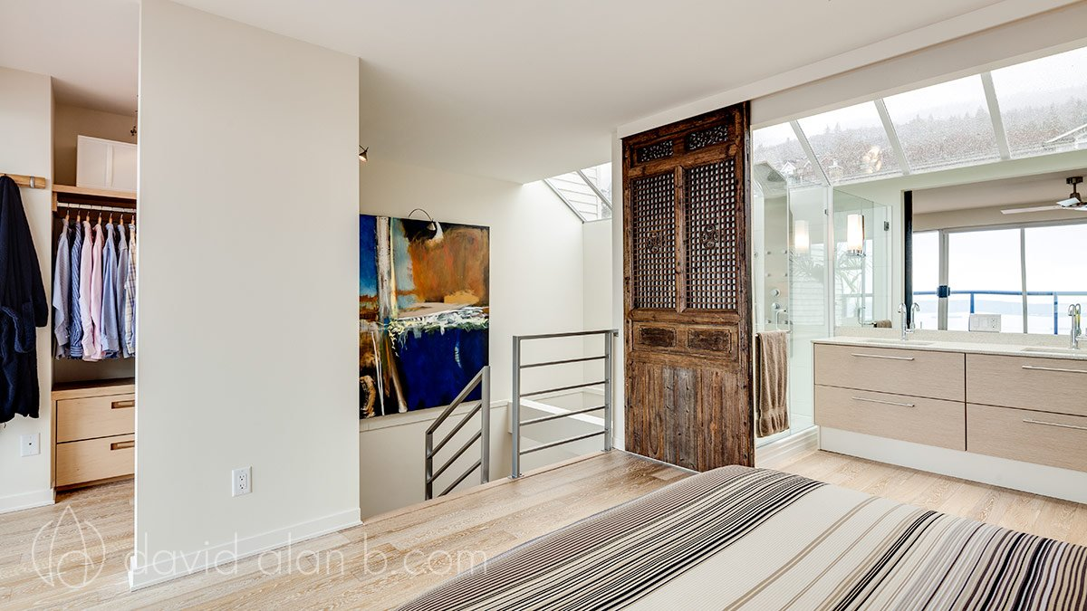 Two-Storey West Vancouver Renovation - Master Suite