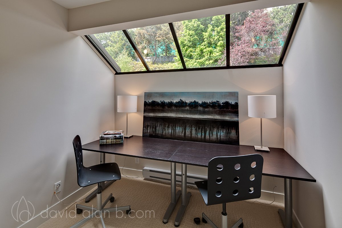 West Vancouver Renovation - Den or Office with Skylight