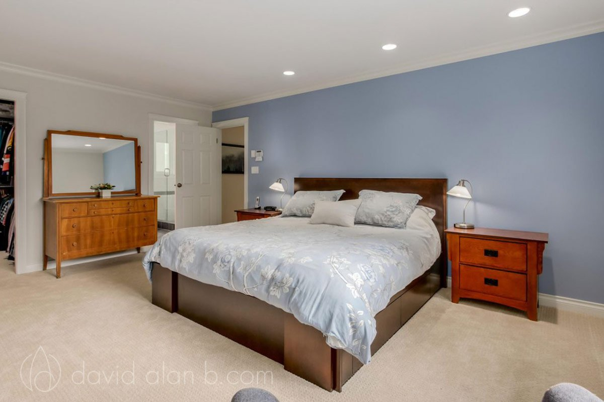 Transitional Design Renovation - Bedroom