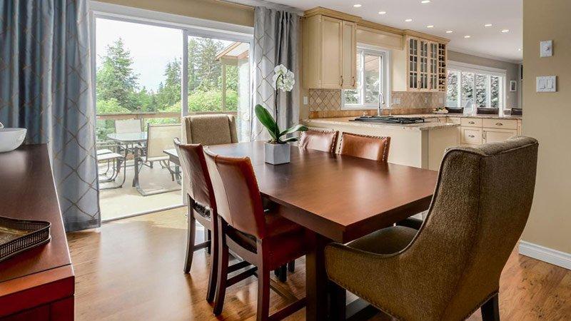 Transitional Design Renovation - Dining Room