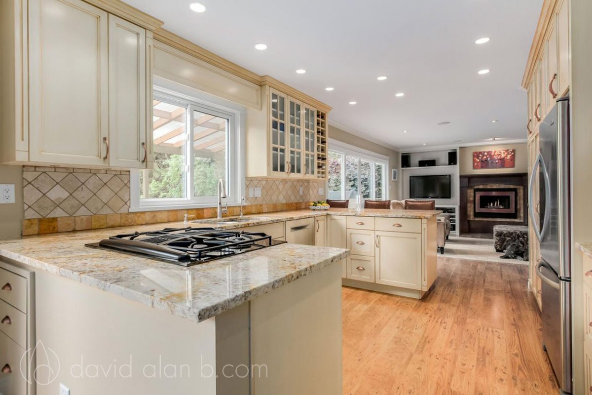 Transitional Design Renovation - Kitchen